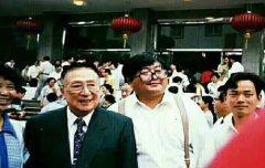 上海中医院臻寿堂专家受吴阶平等接见